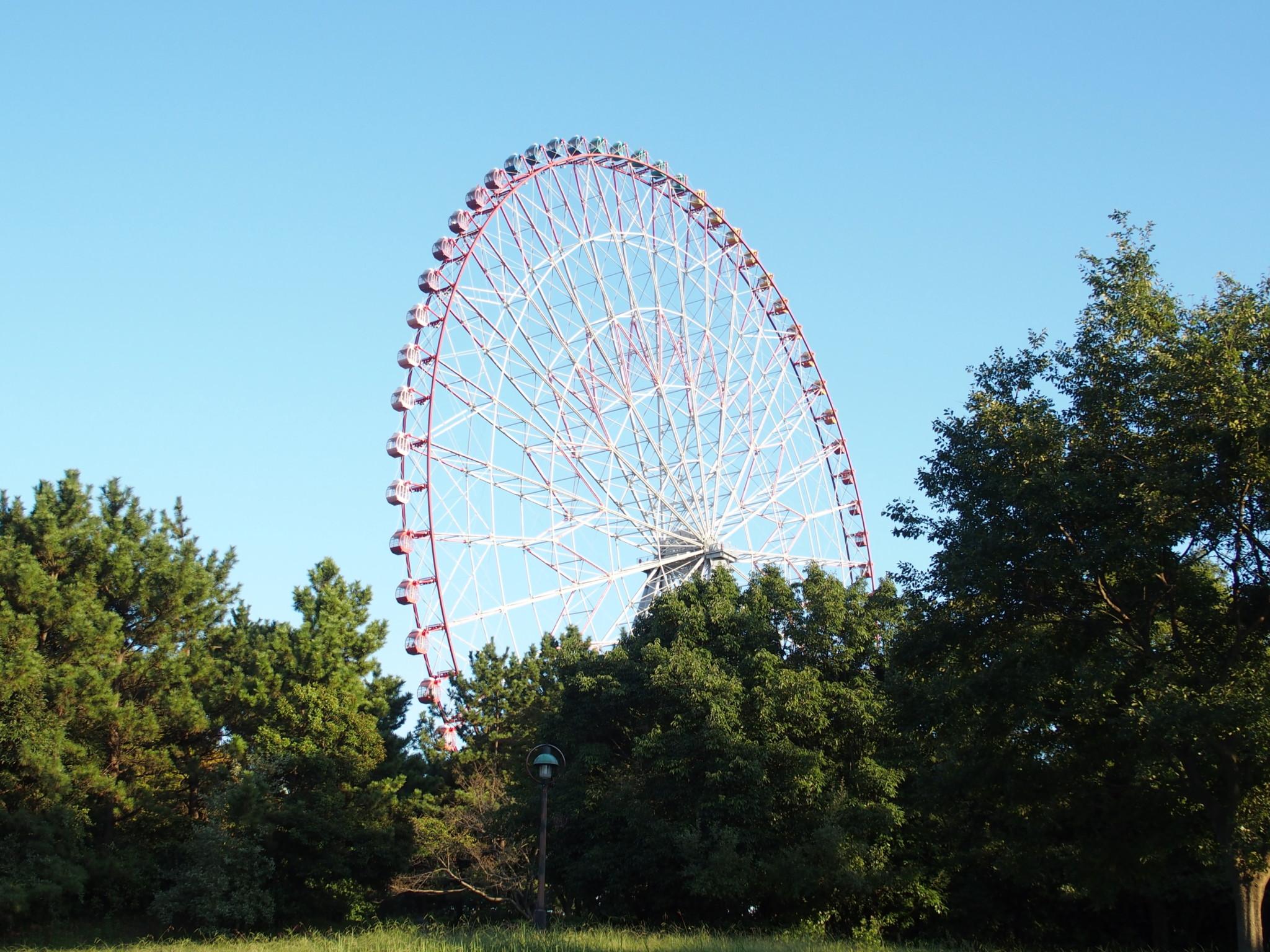 【1】日本一を名乗れるのもあと少し!「ダイヤと花の大観覧車」(東京都)