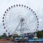 【43】お城と対峙だ!遊園地のボス遊具・観覧車の運命はいかに?「日本モンキーパーク」(愛知県)