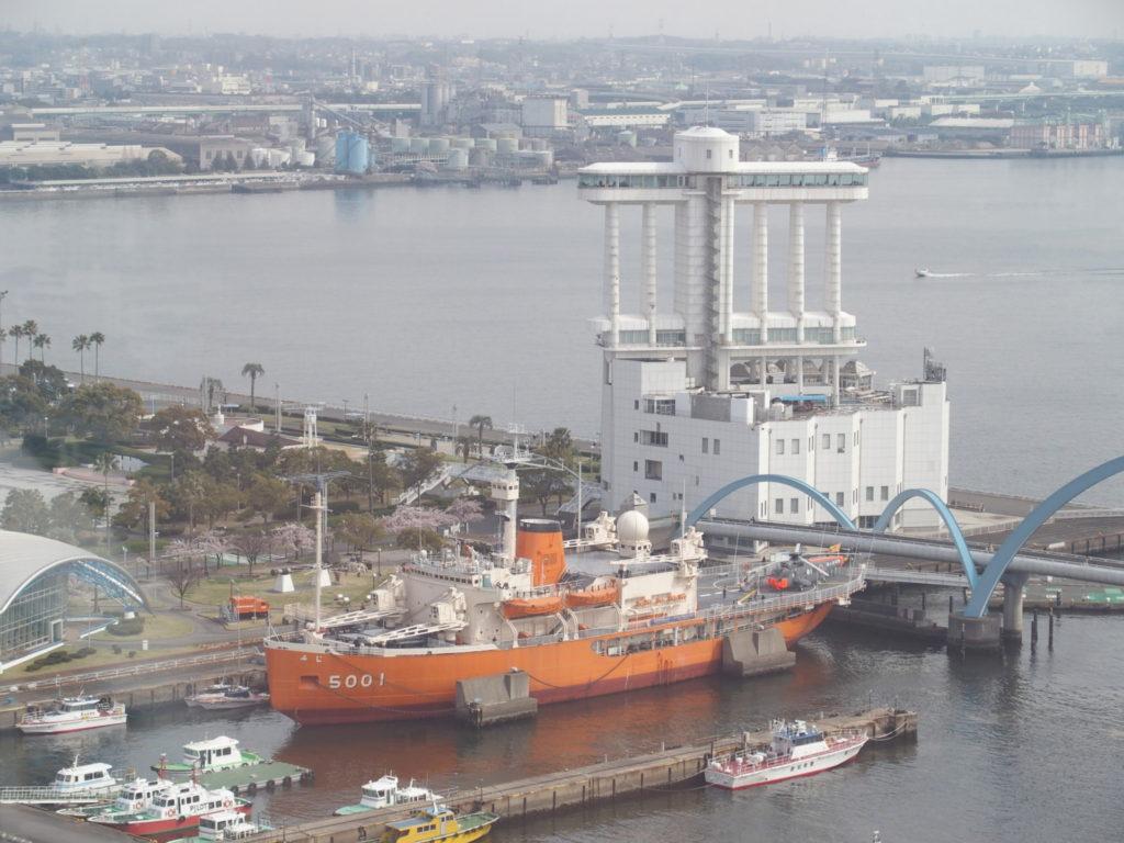 <名古屋港シートレインランドの観覧車・写真>