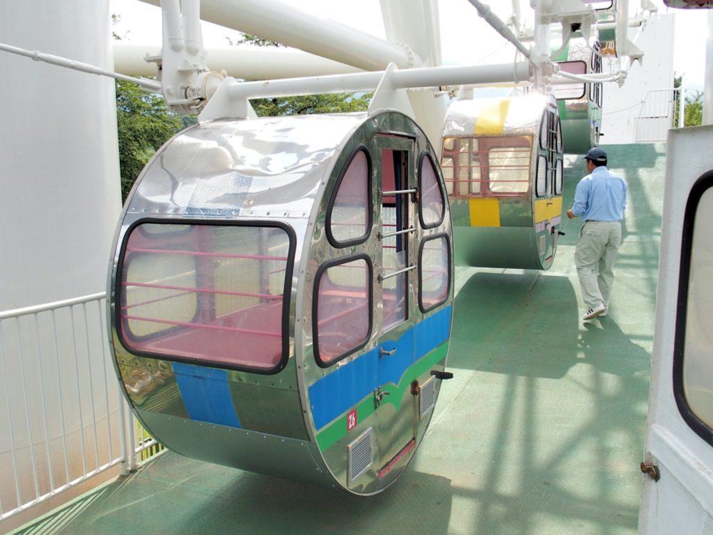 <写真・妙高サンシャインランドの観覧車>
