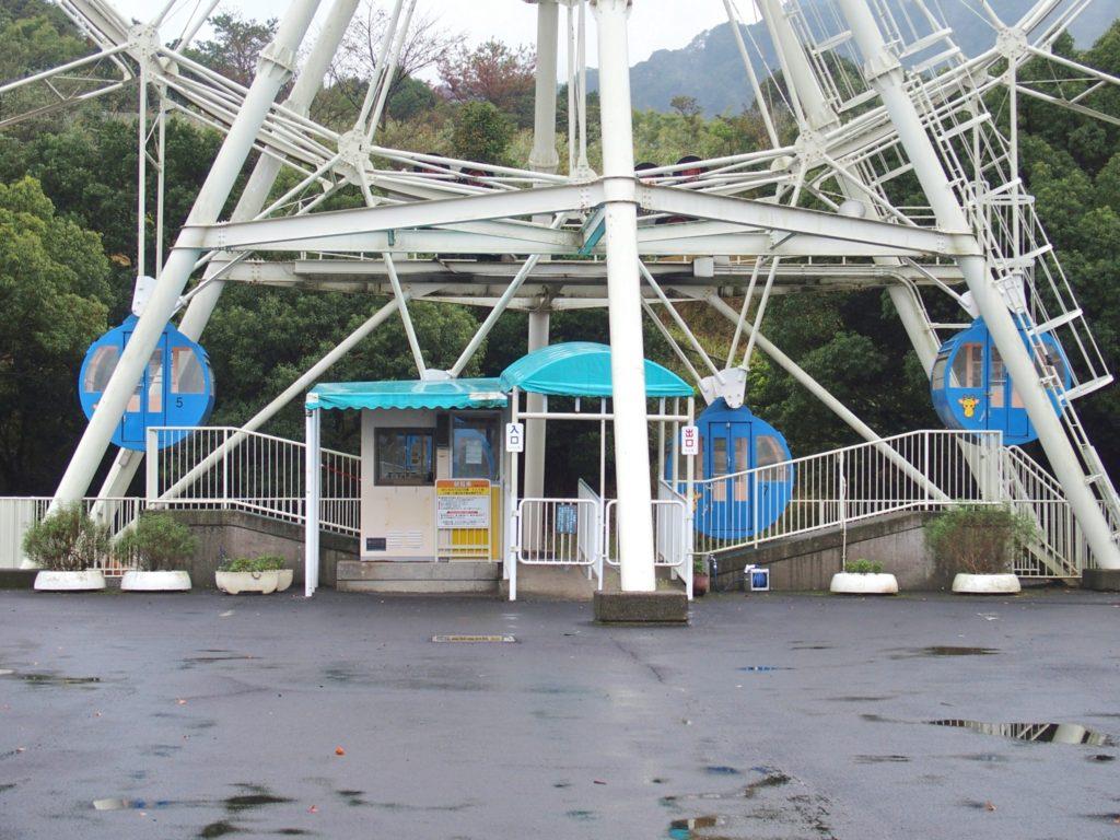 <写真・平川動物園の観覧車>