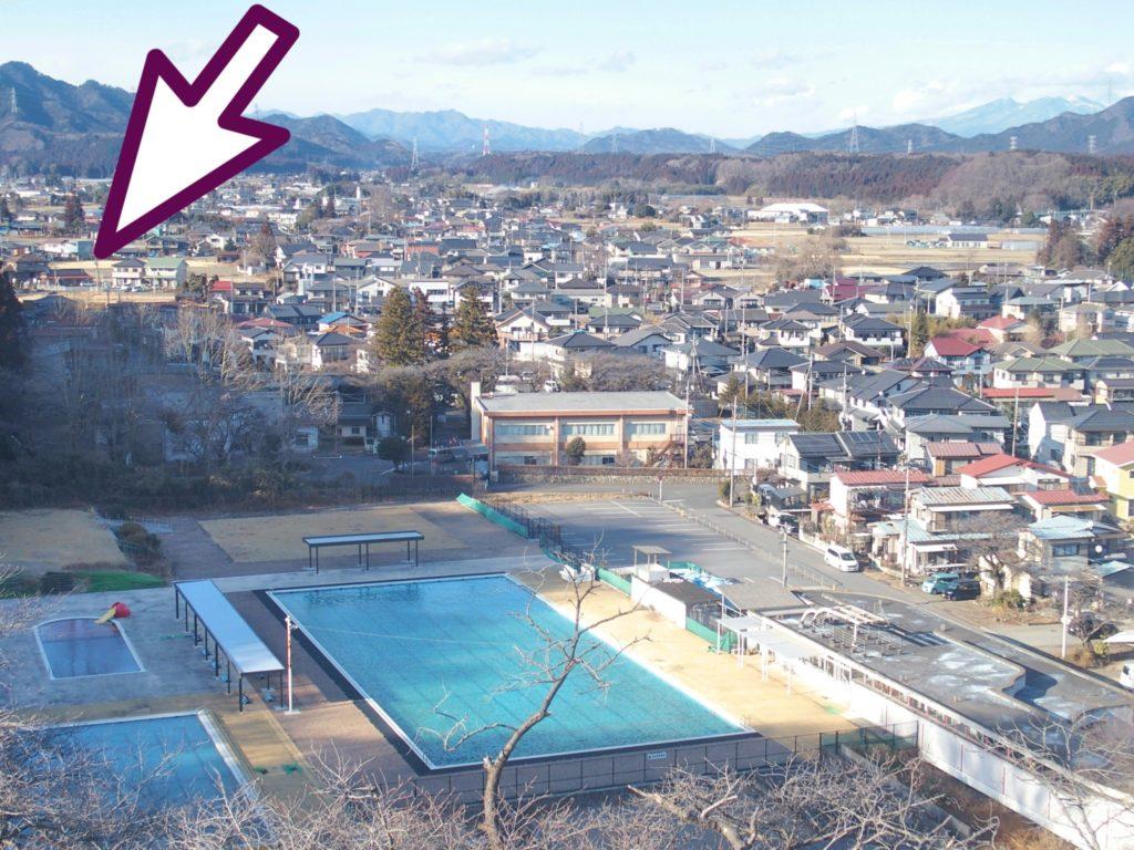 <写真・千手山公園の観覧車>